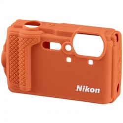 NIKON etui silicone orange