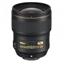 NIKON OBJECTIF AF-S 28mm f/1.4E ED GARANTI 2 ans