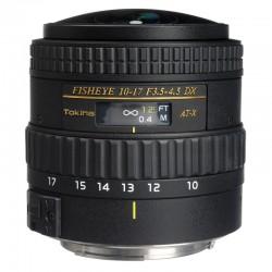 TOKINA Objectif AT-X AF FX 10-17mm Nikon (sans paresoleil)