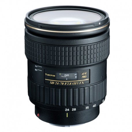TOKINA Objectif AT-X 24-70mm F2.8 FX compatible avec Canon