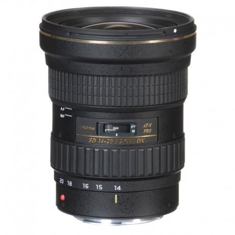 TOKINA Objectif AT-X 14-20mm F2 Pro DX - C/EF