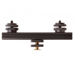 PHOCUSLINE Rail boîtier15cm + 2 griffes porte accessoires