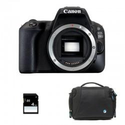 CANON EOS 200D Nu GARANTI 3 ans + Sac + SD 4Go
