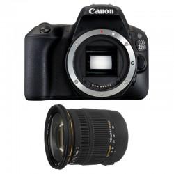 CANON EOS 200D + SIGMA 17-50 F2.8 DC OS EX HSM GARANTI 3 ans