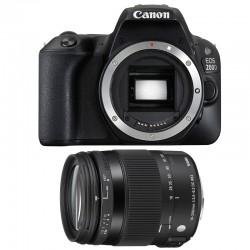 CANON EOS 200D + SIGMA 18-200 Macro OS HSM Contemporary GARANTI 3 ans