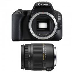 CANON EOS 200D + SIGMA 18-250 F3.5-6.3 DC MACRO OS GARANTI 3 ans
