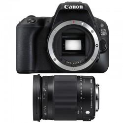 CANON EOS 200D + SIGMA 18-300 Macro OS HSM Contemporary GARANTI 3 ans