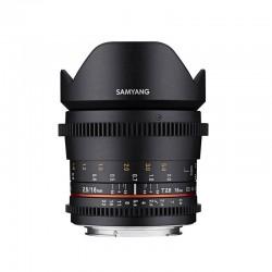 SAMYANG Objectif 16mm T2.6 VDSLR compatible avec Canon Garanti 2 ans