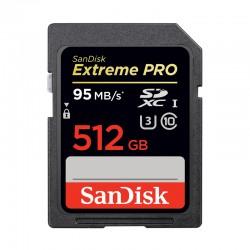 SANDISK SD EXTREME PRO 512 Go SDXC 95 MB/s UHS-1 U3 Classe 10