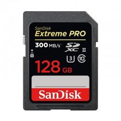 SANDISK SD EXTREME PRO 128 Go SDXC 300 MB/s UHS-II U3 Classe 10