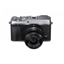 FUJIFILM X-E3 SILVER + XF 23mm f/2 R WR Garanti 3 ans
