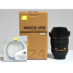 Occasion Objectif NIKON AF-S 24/1,4G ED Garantie 2 ans