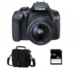 CANON EOS 1300D + 18-55 III GARANTI 3 ans + Sac + Carte SD 4Go