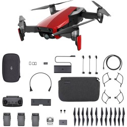 DJI DRONE MAVIC AIR FLAME RED COMBO - DJIMAVICAIRCOMBOFR