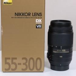 Occasion Nikon AF-S DX 55-300 F/4.5-5.6 G ED VR