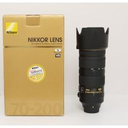 Occasion NIKON Objectif AF-S 70-200mm f/2.8E FL ED VR