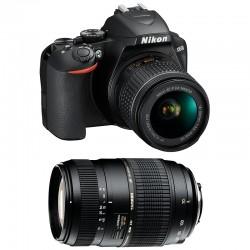NIKON D3500 + 18-55 VR + TAMRON 70-300 DI Garanti 3 ans