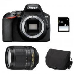 NIKON D3500 + 18-105 VR GARANTI 3 ans + Sac + SD 4Go