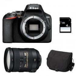 NIKON D3500 + 18-200 VR Garanti 3 ans + Sac + SD 4Go