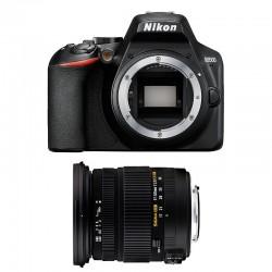 NIKON D3500 + SIGMA 17-50 DC OS HSM Garanti 3 ans