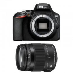 NIKON D3500 + SIGMA 18-200 OS HSM CONTEMPORARY Garanti 3 ans