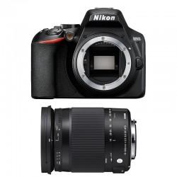 NIKON D3500 + SIGMA 18-300 OS HSM CONTEMPORARY Garanti 3 ans