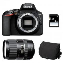 NIKON D3500 + TAMRON 16-300mm VC PZD + Sac + SD 4Go