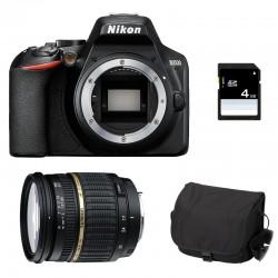 NIKON D3500 + TAMRON 17-50 XR Di II LD GARANTI 3 ans + Sac + SD 4Go