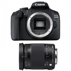 CANON EOS 2000D + SIGMA 18-300 Macro OS HSM Contemporary Garanti 3 ans