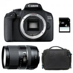 CANON EOS 2000D + TAMRON 16-300 VC Garanti 3 ans + Sac + Carte SD 4Go