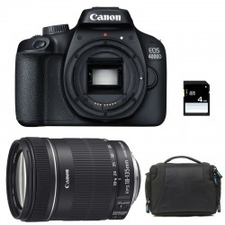 CANON EOS 4000D + 18-135 IS Garanti 3 ans + Sac + SD 4Go