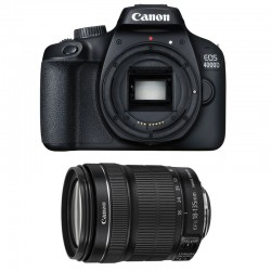 CANON EOS 4000D + 18-135 IS STM Garanti 3 ans