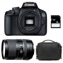 CANON EOS 4000D + TAMRON 16-300 VC Garanti 3 ans + Sac + Carte SD 4Go