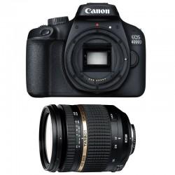 CANON EOS 4000D + TAMRON 17-50 VC Garanti 3 ans