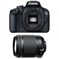 CANON EOS 4000D + TAMRON 18-200 VC Garanti 3 ans