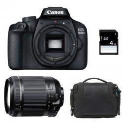 CANON EOS 4000D + TAMRON 18-200 VC GARANTI 3 ans + Sac + Carte SD 4Go