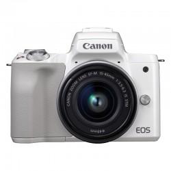 CANON EOS M50 BLANC + 15-45 Garanti 3 ans