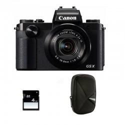 CANON POWERSHOT G5X Garanti 2 ans + Sac et Carte SD 4 Go