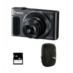 CANON Compact PowerShot SX 620 HS Noir Garanti 2 ans + Sac et Carte SD 4 Go