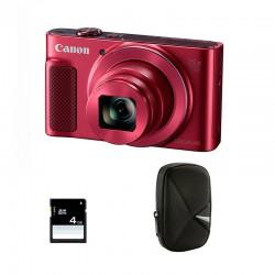 CANON Compact PowerShot SX 620 HS Rouge Garanti 2 ans + Sac et Carte SD 4 Go