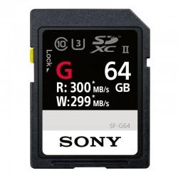 SONY Carte SD 64 Go UHS-II R300/W299 - SFG64G