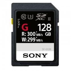 SONY Carte SD 128 Go UHS-II R300/W299 - SFG1G