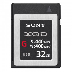 SONY Carte XQD 32 Go High Speed R440/W400 sans adaptateur - QDG32E-R