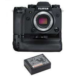 FUJIFILM X-H1 GARANTI 3 ans + Booster grip VPB-XH1 + Batterie NP-W126S