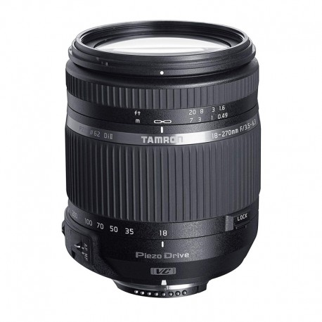 TAMRON Objectif 18-270mm F/3.5-6.3 Di II VC PZD compatible avec Canon Garanti 2 ans