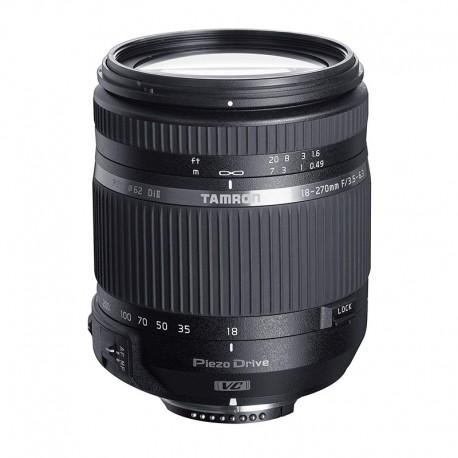 TAMRON Objectif 18-270mm F/3.5-6.3 Di II VC PZD Nikon Garanti 2 ans
