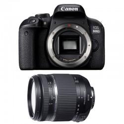 CANON EOS 800D + TAMRON 18-270 VC PZD Garanti 3 ans