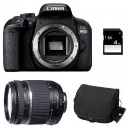 CANON EOS 800D + TAMRON 18-270 VC PZD GARANTI 3 ans + Sac + Carte SD 4Go