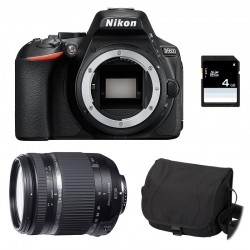 NIKON D5600 + TAMRON 18-270 VC PZD Garanti 3 ans + Sac + Carte SD 4Go