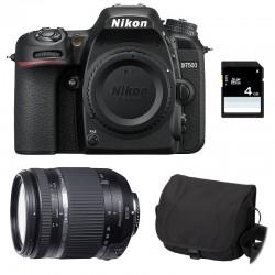 NIKON D7500 + TAMRON 18-270 VC PZD Garanti 3 ans + Sac + Carte SD 4Go